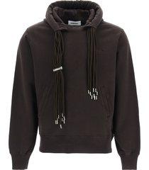 ambush multicord sweatshirt with hoodie