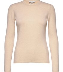 catrin knit stickad tröja beige andiata