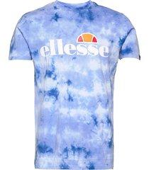el sl prado tie dye tee t-shirts short-sleeved blå ellesse