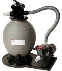 """blue wave 22"""" sand filter system with1.5 hp pump for above ground pools"""
