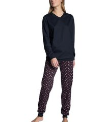 calida autumn dreams pyjama with cuff
