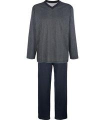 pyjamas babista marinblå::grå