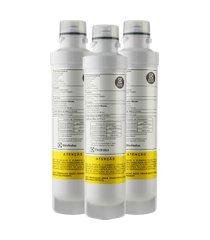 kit 3 filtros para purificador de água pe - pe10b, pe10x
