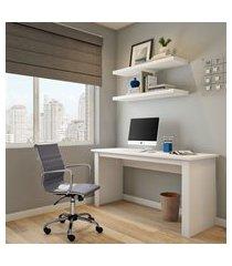 mesa de escritório hill branca