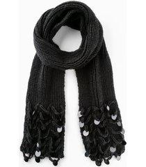 sciarpa con paillettes (nero) - bpc bonprix collection