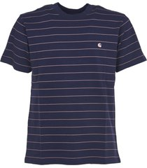 carhartt blue striped t-shirt