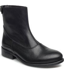 boots 82990 shoes boots ankle boots ankle boot - flat svart carla f