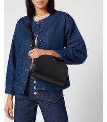 a.p.c. women's demi-lune crossbody bag - black