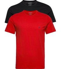 t-shirt t-shirts short-sleeved multi/mönstrad emporio armani