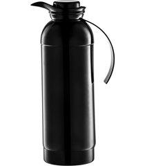 garrafa térmica catania 1l black níquel - riva