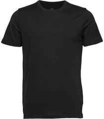 mens tech lite ss crewe t-shirts short-sleeved svart icebreaker