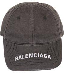 grey denim woman baseball cap with logo