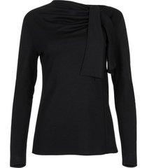 blouse lisca topje met lange mouwen giselle zwart