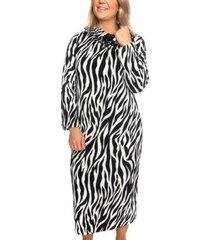 trofe silk fleece dress robe