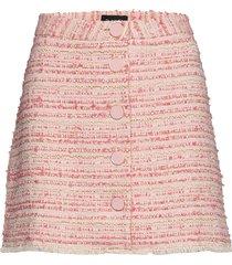 3379 - rike n kort kjol rosa sand