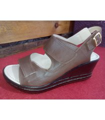 sandalias plataforma jj cow shoes ref 208