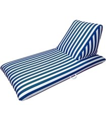 drift and escape navy blue pool chaise lounge - morgan dwyer signature