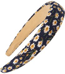 tasha floral headband in navy/yellow at nordstrom
