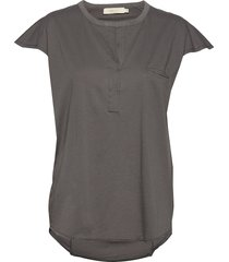 blanka t-shirts & tops short-sleeved grijs rabens sal r