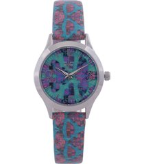 reloj plateado-multicolor versace 19.69