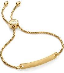 gold havana mini friendship chain bracelet