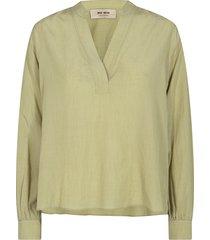nadine mini check blouse 136750