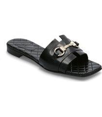 sandals 2702 shoes summer shoes flat sandals svart billi bi