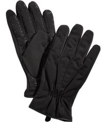 polo ralph lauren men's soft-shell touch gloves