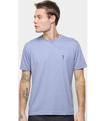 camiseta aleatory básica manga curta masculina - masculino