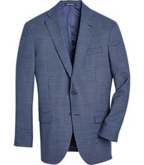 awearness kenneth cole blue check slim fit sport coat