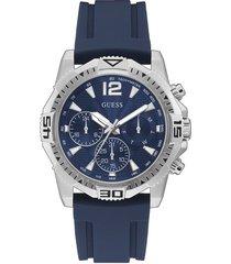 reloj guess commander gw0211g1 - azul