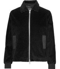 eve cord zomerjas dunne jas zwart brixtol textiles