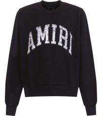amiri bandana logo sweatshirt