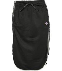 skirt knälång kjol svart replay