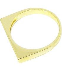 anel amor de mãe semijoia banho de ouro 18k