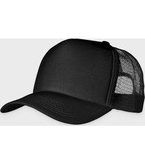 czapka (bez nadruku, gładka) - cała czarna