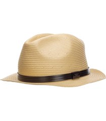 cappello uomo in paglia fedora trilby panama