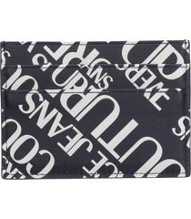 versace jeans couture vanille credit card holder