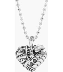 women's lagos 'hearts of lagos - new york' reversible pendant necklace (online only)