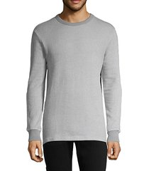 pullover stretch-cotton sweater
