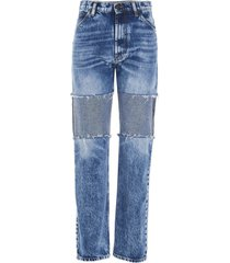 maison margiela recycled patchwork jeans