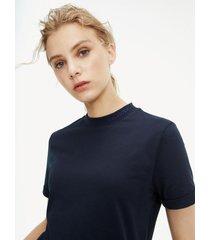 t-shirt manga corta azul tommy hilfiger