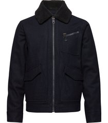 191j wool jacket wollen jack jack blauw lee jeans