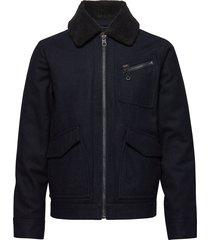 191j wool jacket wollen jack jack blauw lee jeans