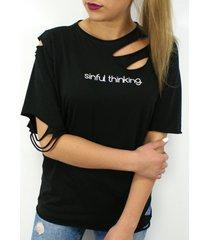 t-shirt sinful thinking