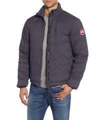 men's canada goose lodge packable 750 fill power down jacket, size large - grey