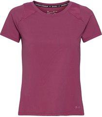 ua isochill run 200 ss t-shirts & tops short-sleeved rosa under armour