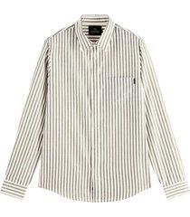 shirt in yarn-dyed pat