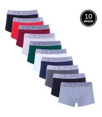 kit dorbe com 10 cuecas sungáo colorido