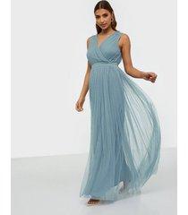 anaya wrap maxi dress maxiklänningar